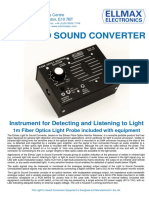 Light to Sound Converter