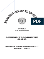 Annual Programme Book 2017-18