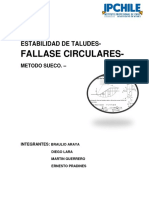 Falla Circular INFORMEE Conclusion