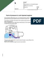 Fuel Pressure in Fuel Lines