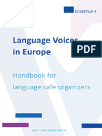 Language Voices Best Practice Handbook in ENGLISH