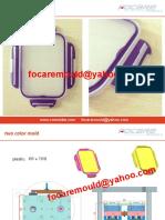 Bi Color Mold Design China Two Color Mould Maker 2k Die Moulds Two Shot Min