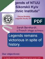 "Brodska Daryna ""Legends of KPI"""