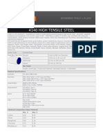 4140 High Tensile Steel