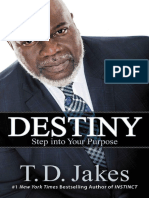 Destiny_ Step Into Your Purpose - T.D. Jakes
