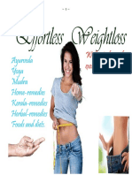 Effortless Weightloss E-book