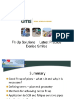 Denise Smiles - Fit-up Solutions - Latest Practice