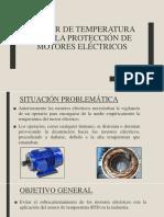 Sensor de Temperatura Para La Protección de Motores