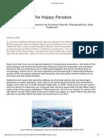 The Happy Paradox