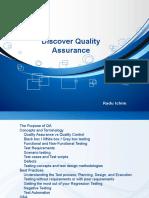 Discover Quality Assurance