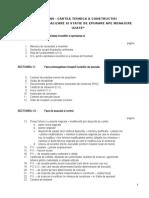 Sumar Cartea Tehnica a Constructiei