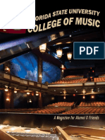 FSU College of Music Alumni Magazine 2016