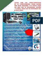 caracteristicas computadora