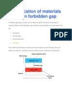 1 classification of materials based on forbidden gap-1