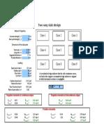 Two Way Slab Design_Calculations