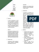 Los Antibiogramas (Galle)