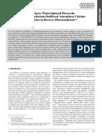 Emergent Nanostructures