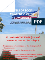 LEVELS OF SOCIAL AWARENESS OF THE COMMUNITY.ppt