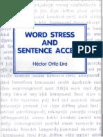 Word Sentence Stress