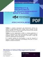 VinHaze-School Management Software
