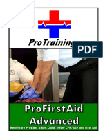 ProFirstAid Adv 2015 Manual