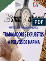 Asma en Trabajadores Expuestos a Polvo de Harina