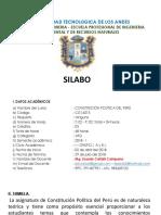 1. Socialización Del Silabo.