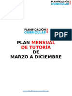 Plan de Tutoría 2 Marzo