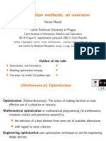 Optimization Mathematics
