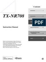 TX-nr708 Manual e