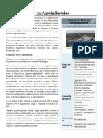 Ingeniería Civil en Agroindustrias