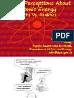 Public Awareness of Nuclear Hazards