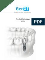 GenXT Catalog Compressive and Basal