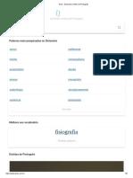 Dicio - Dicionário Online de Português
