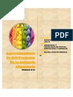 Situcion Regional y Nacional de Frutas y Hortalizas
