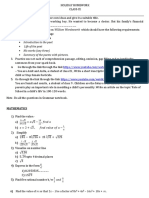 Circularscompiled Holiday Homework-ix