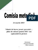 Comisie metodica