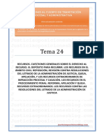 _Tema 24T - Recursos Civiles y Penales