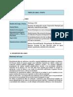 Perfil de Cargo Psicólog@ 2015