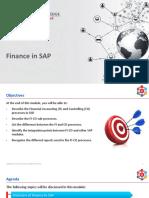 Finance in SAP
