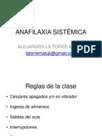 Anafilaxia y Alergia (1)