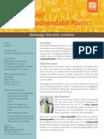Bioplastic Plasticfork Interactive