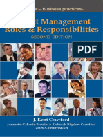 PM Roles and Responsibilities 2ed