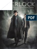 Sherlock (Main Theme,Watson's Theme,Heroes Theme)