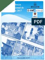 Informe Del Índice de Pobreza Multidimensional de Panamá 2017
