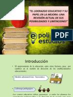 El Liderazgo Educativo y su Papel en la Mejora