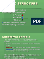 Atomic Structure(Lesson )