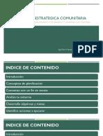 PLANIFICACION ESTRATEGICA COMUNITARIA