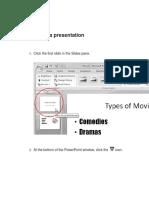 Preview a Presentation