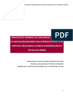 Protocolo Multidrogoresistente